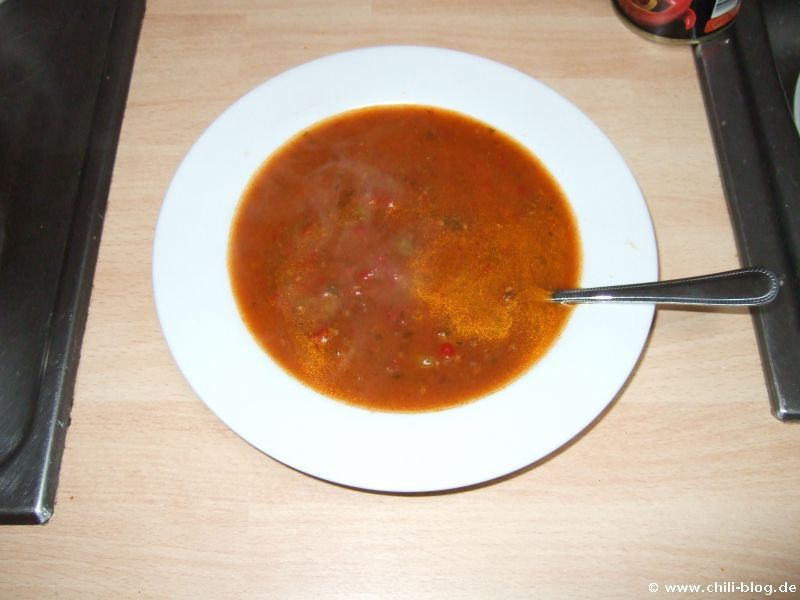 Fertige Suppe